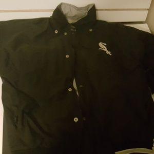 WHITESOX starter jacket